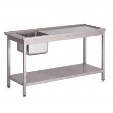 Gastro-M voorspoeltafel voor doorschuifvaatwasmachine HT50 Vaatwasmachines