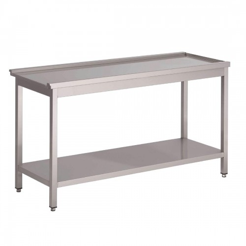 Gastro-M aanvoertafel voor doorschuifvaatwasmachine HT50 Vaatwasmachines