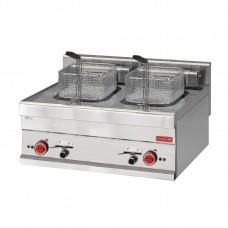 Gastro-M elektrische friteuse 10+10ltr 60/70 FRE