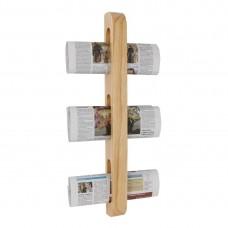 Olympia houten tijdschriften-/krantenrek Menumappen