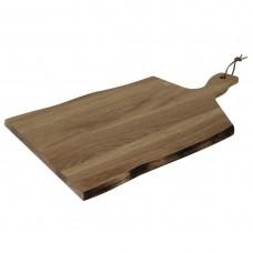 Olympia Acacia plank golvende rand 35,5x25cm 8,5cm handgreep Houten Planken