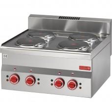 Gastro-M 600-serie elektrische kookplaat 60/60 PCE Kookplaat