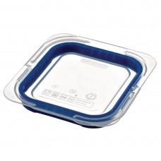 Araven ABS blauw GN 1/6 deksel