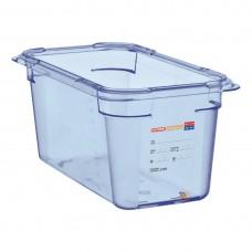Araven ABS blauwe GN 1/4 bak 150mm diep