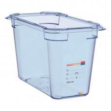 Araven ABS blauwe GN 1/3 bak 200mm diep