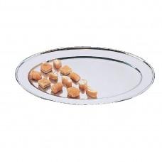 Ovale rvs serveerschaal 20cm Serveerschalen