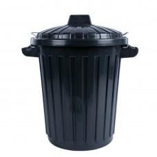 Curver Afvalcontainer met deksel 70 liter Afvalcontainers