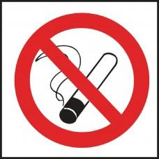 Verboden te roken sticker Deurschilden - Tekstplaatjes