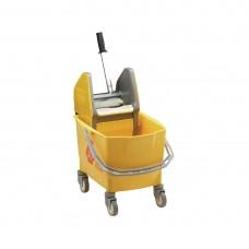Rubbermaid mobiele mopemmer geel Emmers Mop