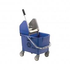 Rubbermaid mobiele mopemmer blauw Emmers Mop