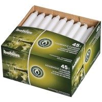 Bolsius kaarsen wit Cartridges