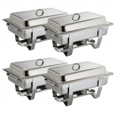 Chafing Dish Bain Marie GN 1/1 Per 4 stuks Chafing Dishes