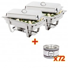 SPECIALE AANBIEDING Chafing dish met brandpasta Chafing Dishes