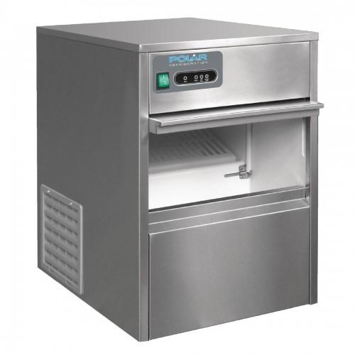 Polar Tafelmodel IJsblokjesmachine 20kg output IJsblokjesmachines