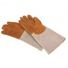 Lederen ovenhandschoen Handschoenen