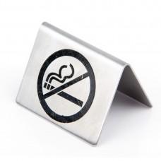 RVS tafelbordje Niet Roken Tafelstandaards