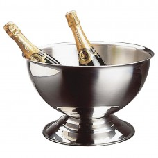 RVS champagne bowl Wijn- Champagnekoelers