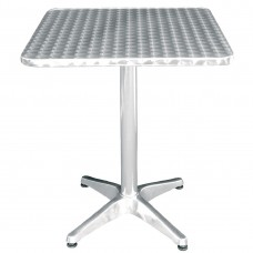 Bolero RVS tafel vierkant 60cm Bistrotafels