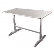 Bolero RVS tafel 120x60cm Bistrotafels