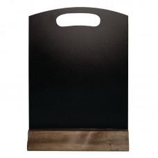 Olympia tafelbordje 15x23cm Tafelkrijtbord