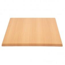 Bolero vierkant tafelblad beuken 60cm Vierkante Tafelbladen