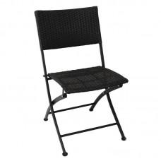 Bolero opklapbare rotan stoelen (2 stuks) Bistrostoel