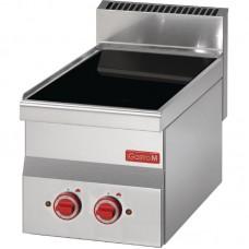 Gastro-M 600-serie Keramische Kookplaat 60 x 30 cm. 3.6kW / 400V / 230V Kookplaat