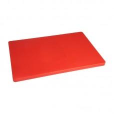 Hygiplas LDPE Extra Dikke Rode Snijplank | 60 x 45 x H2 cm. Snijplanken