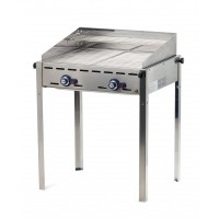 Green Fire Gasbarbecue met 2 Roosters GN1/1 Profi Line