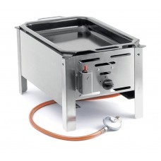 Hendi Bake Master Mini Gasbarbecue met Bakplaat Barbecue Gas