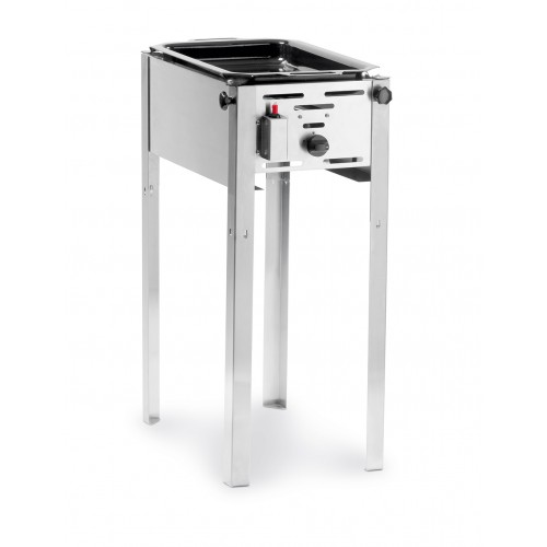 Hendi Grill Master Mini Gasbarbecue met Bakplaat  Barbecue Gas