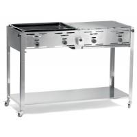 Hendi Grill Master Quattro Gasbarbecue