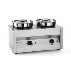 Thermosystem Hotpot met 2 Potten Bain Marie Tafelmodel
