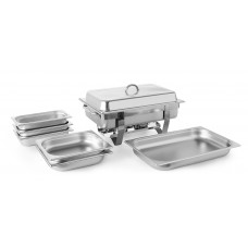Chafing Dish Set Fiore met Extra Bakken Chafing Dishes