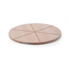 Pizza Planken voor 6 Gelijke Delen Pizzapannen