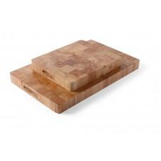 Snijplank Rubberwood met Handgrepen GN 1/2 Snijplanken