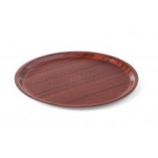 Dienblad Woodform Antislip Lage Rand Ø38cm Dienblad Woodform