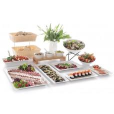 Gastronorm Tray met Smalle Rand GN1/1 GN Bakken Melamine Hendi