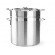 Rijststomer met Inzet en Deksel Inhoud 55 L. Kookpan ProfiLine Aluminium