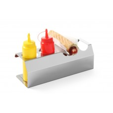 Hotdog Standaard RVS Flacon Dispensers