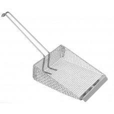 Fritesschep met 225 mm Lange Draadgreep  Frituurartikelen