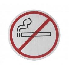 Deurschild Niet Roken Ø 75 mm Deurschilden - Tekstplaatjes