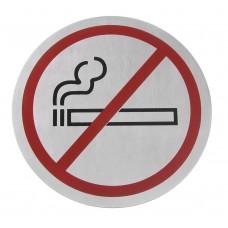 Deurschild Niet Roken Groot Ø 160 mm Deurschilden - Tekstplaatjes