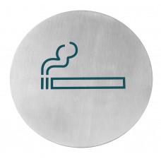 Deurschild Roken Groot Ø 160 mm Deurschilden - Tekstplaatjes