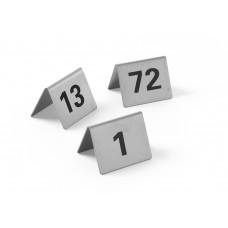 Tafelstandaard nummers