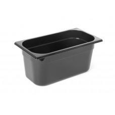 Gastronormbak Polycarbonaat Zwart GN 1/3 - 65 mm diep GN Polycarbonaat Bakken
