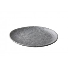 Pebble Grey | Bord Organisch | Ø 26,5 cm Pebble Grey Melamine