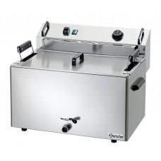 Bakkers Friteuse Inhoud 16 Liter Elektrisch 400V Bakkerij Friteuse