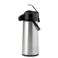 Pompthermoskan RVS 2.2 Liter
