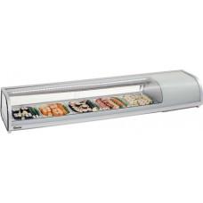 Opzetkoelvitrine Sushi Bar 5 x GN1/2 - 40 mm